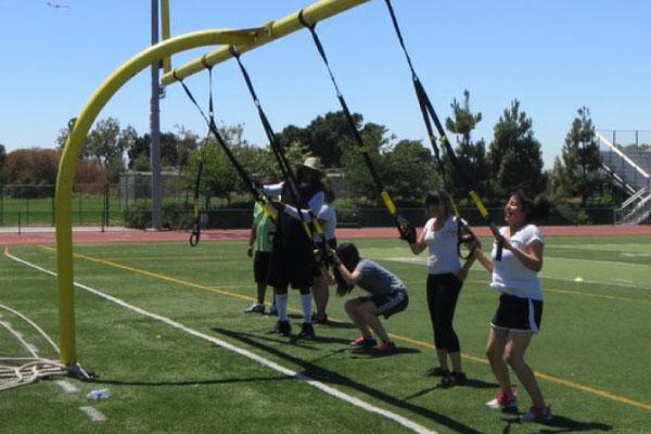 TurnPro Sports - Team Training on Field